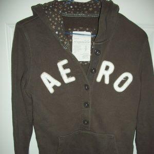 Aeropostale Girls jacket Small 3/4 button up